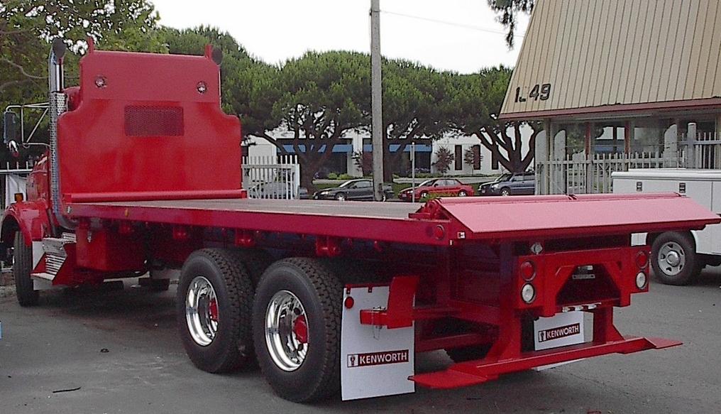 Custom Flat Bed Trucks